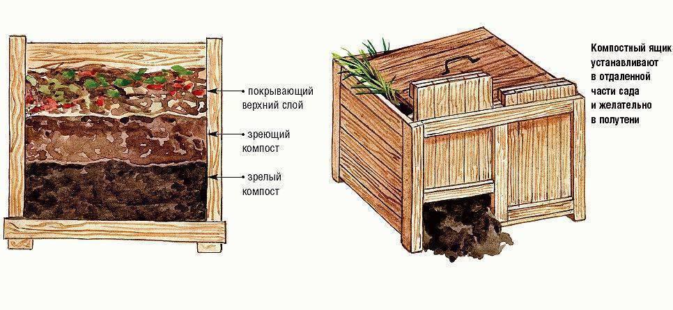 Компостная яма: изготовление компостной ямы своими руками