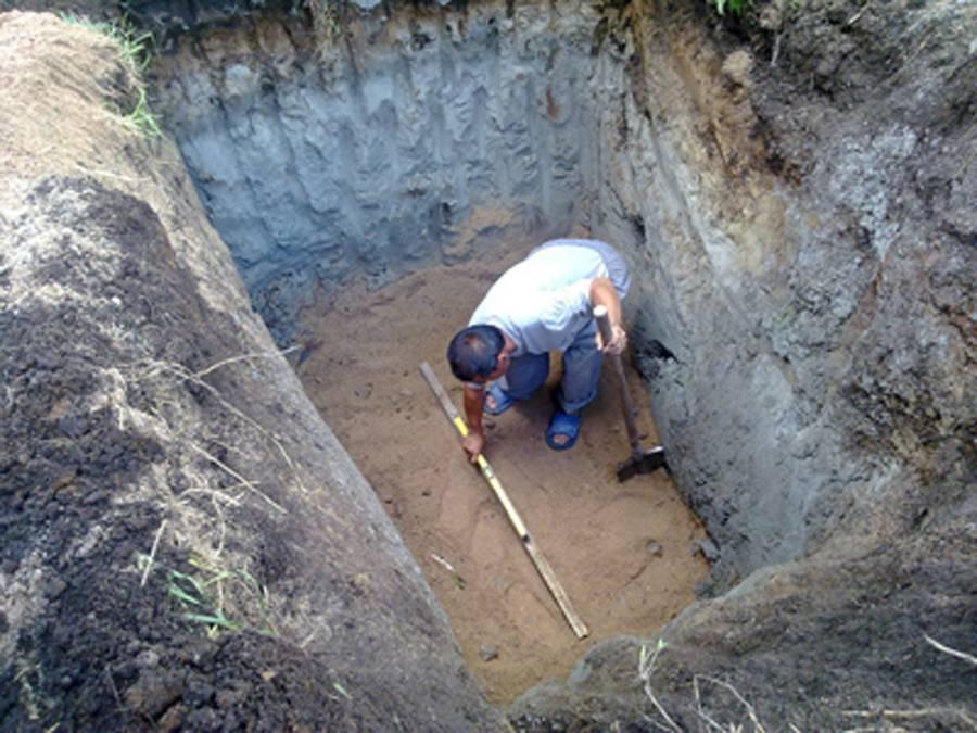 Сколько стоит вырыть яму под септик, цена в московской области | септик клён официальный сайт производителя!