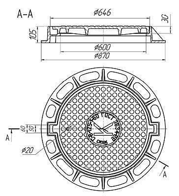 Как выбрать люк для канализационного колодца: виды, цена