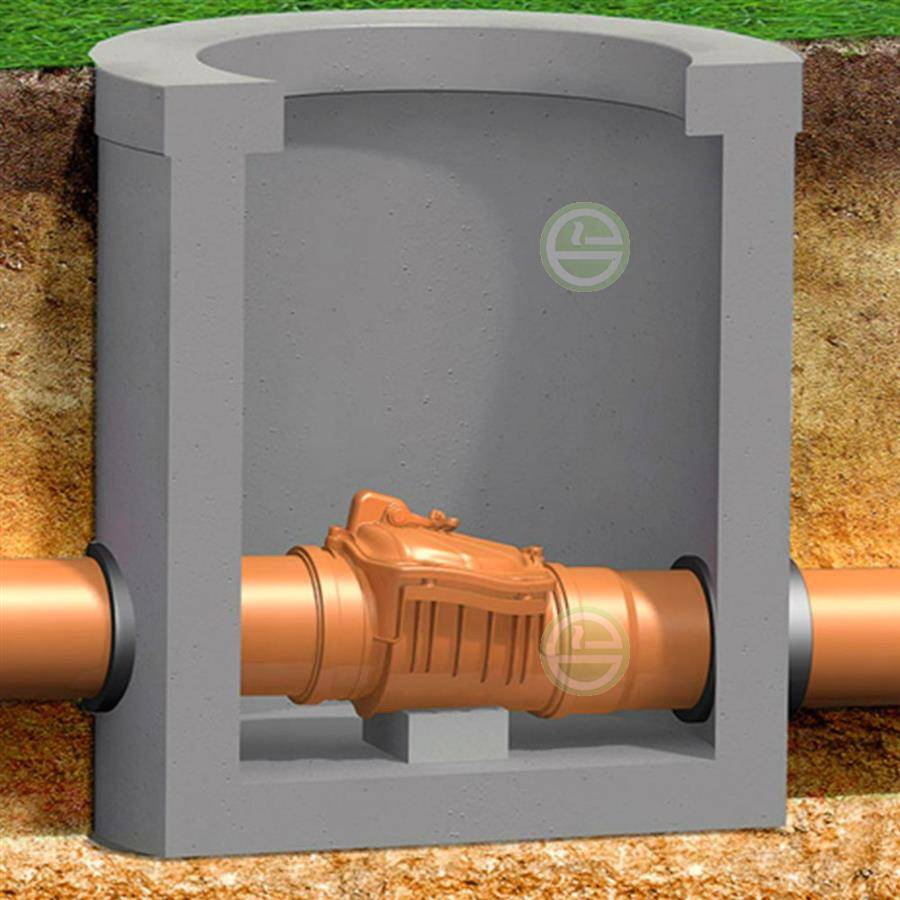 Что такое обратный клапан для канализации