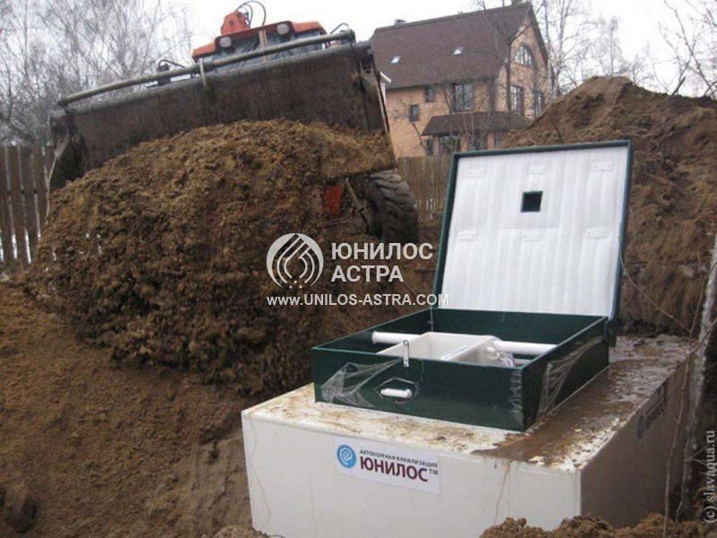 Септик юнилос астра-75 миди купить в московской области. низкие цены.