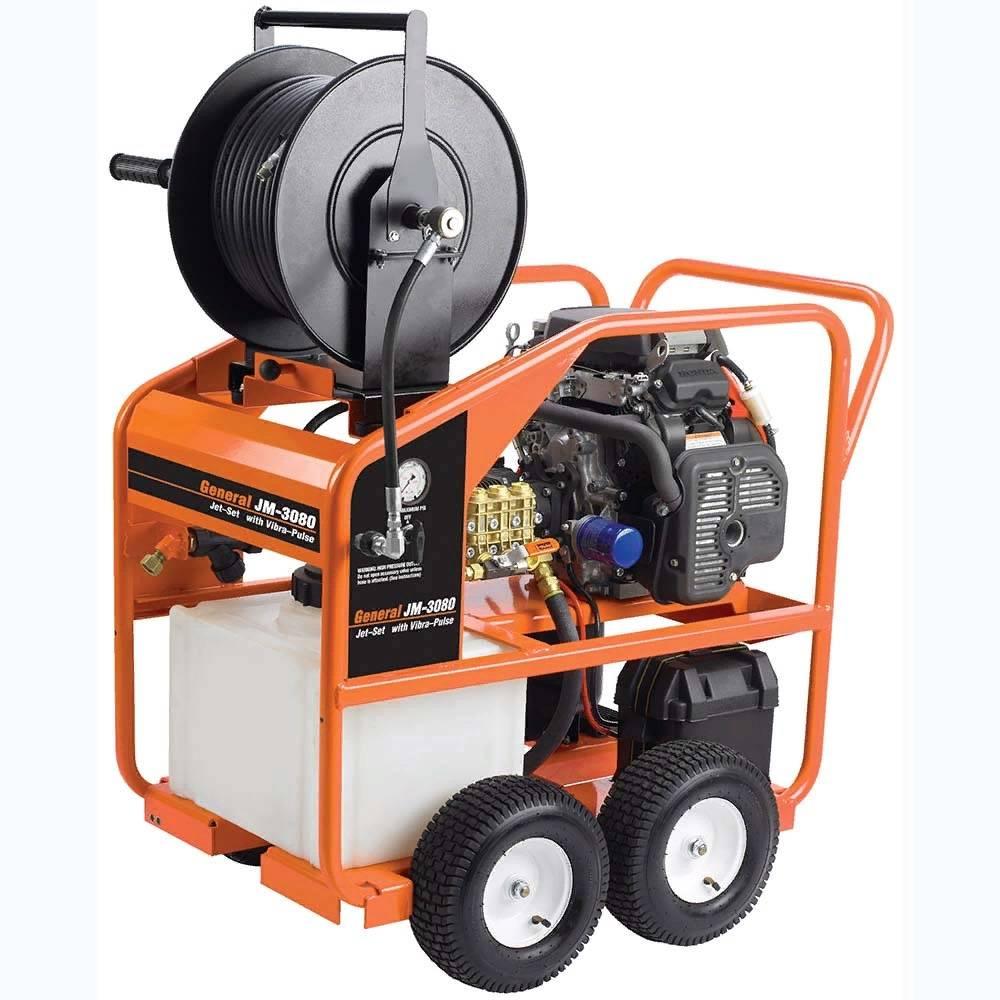 Гидродинамическая машина для прочистки и промывки канализационных труб