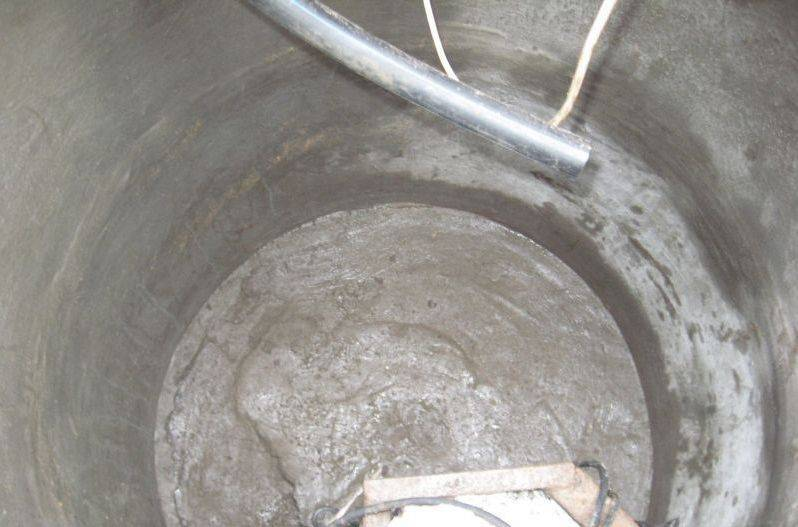 Гидроизоляция колодца из бетонных колец