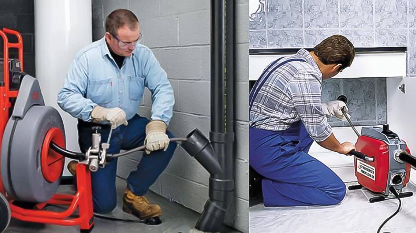 Способы и средства промывки канализации