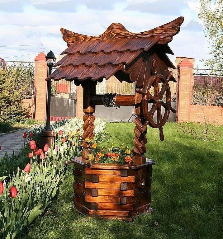 Домик для колодца (53 фото): деревянная колодезная конструкция - чертежи с размерами своими руками, вариант для скважины, пошаговая инструкция