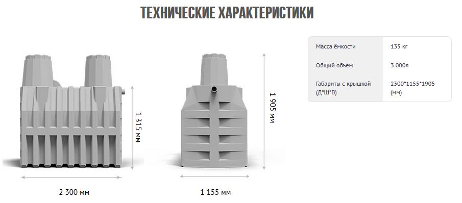 Септик термит - обзор и монтаж накопителя