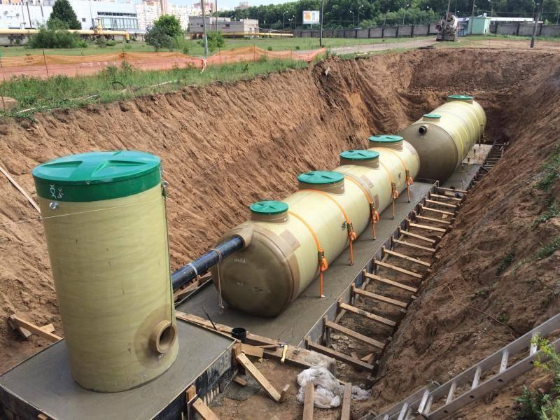 Принцип работы очистных сооружений канализации