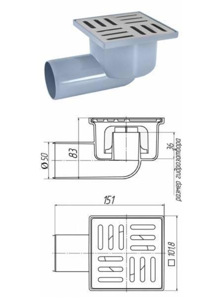Виды и устройство канализационного трапа