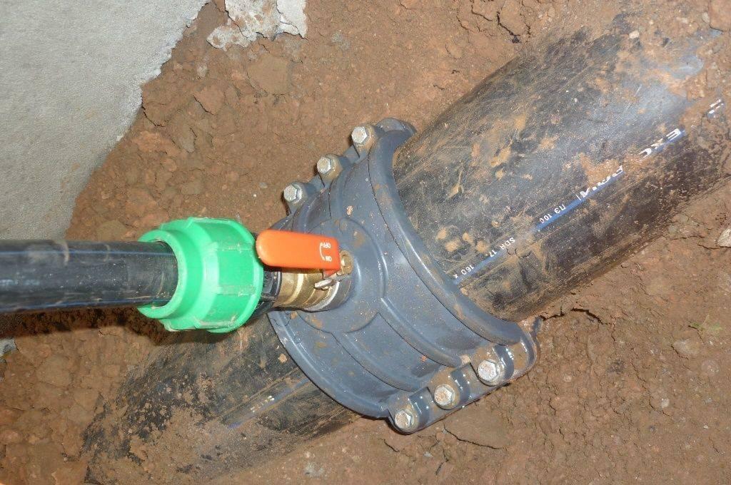 Как правильно врезаться в водопроводную пластиковую трубу