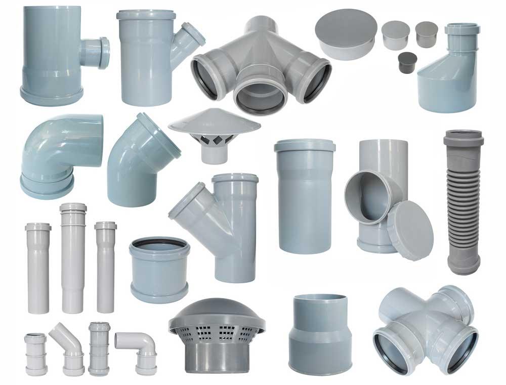 Фитинги для канализационных труб: видео-инструкция по монтажу своими руками, особенности пп, пвх изделий, размеры, цена, фото