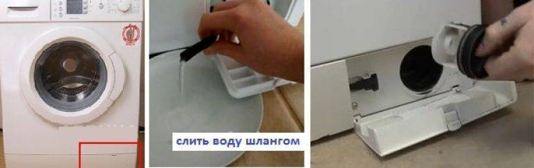 В стиральной машине мигают индикаторы