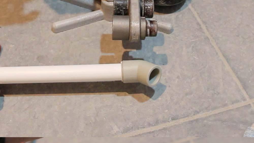 Пайка армированных полипропиленовых труб