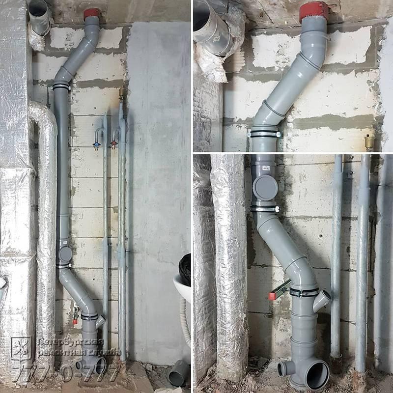 Как правильно: заменить стояки водоснабжения