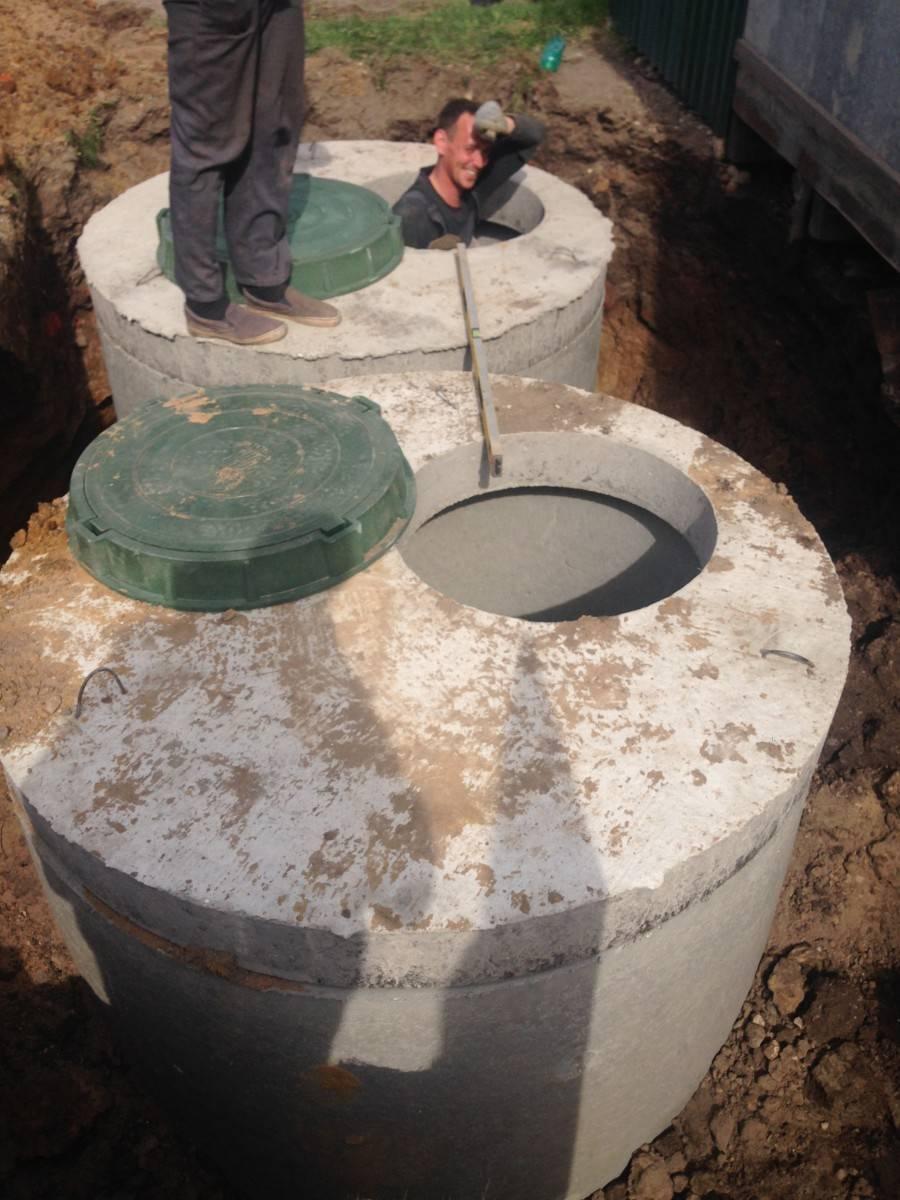Септик из бетонных колец под ключ в московской области