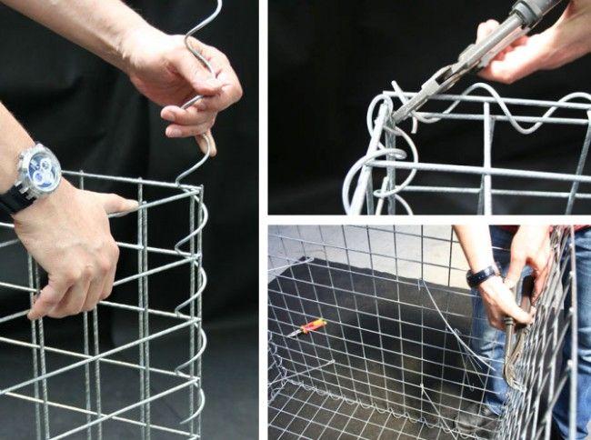 Как сделать габионы из сетки своими руками