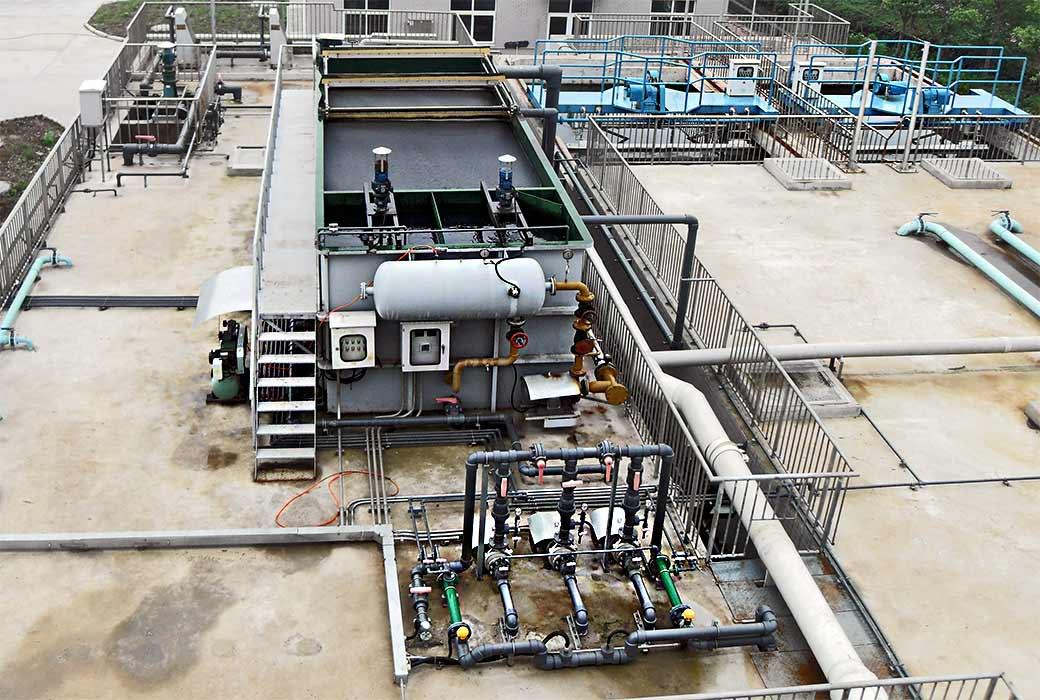 Методы очистки сточных вод. канализационные очистные сооружения.
