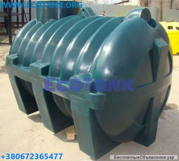 Емкость для септика: накопительный пластиковый септик