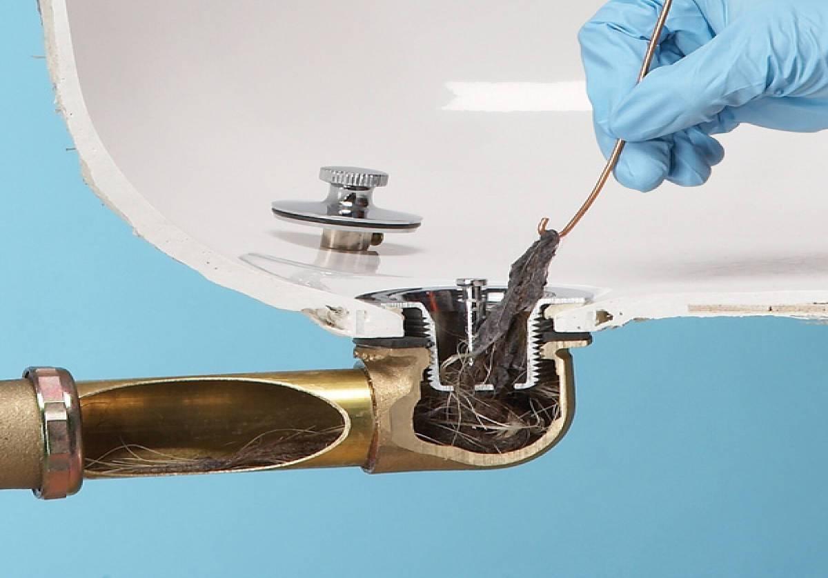 Засор в ванной как устранить - все о канализации