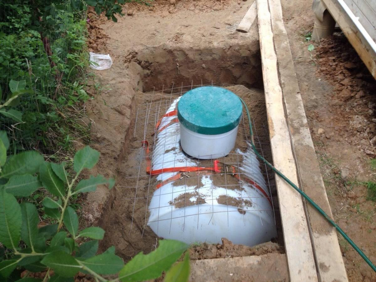 Выбираем и устанавливаем резервуары для канализации
