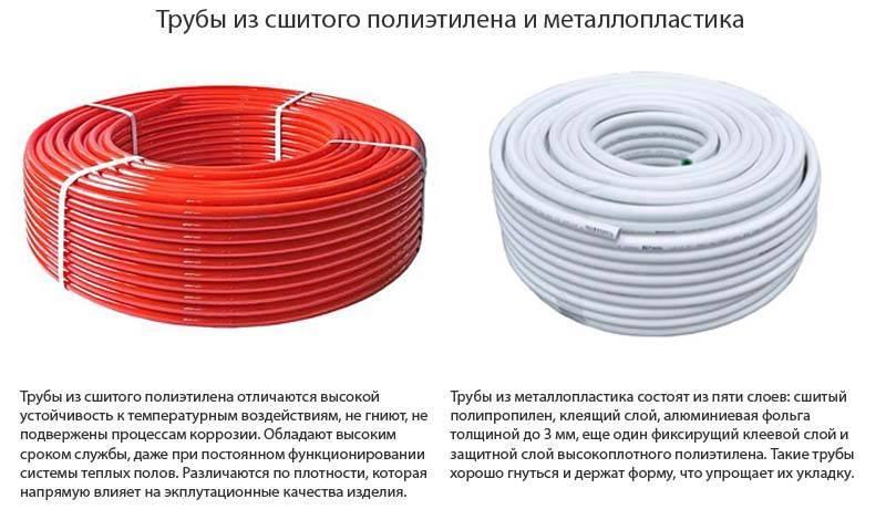 Трубы из сшитого полиэтилена для водоснабжения: свойства | гидро гуру