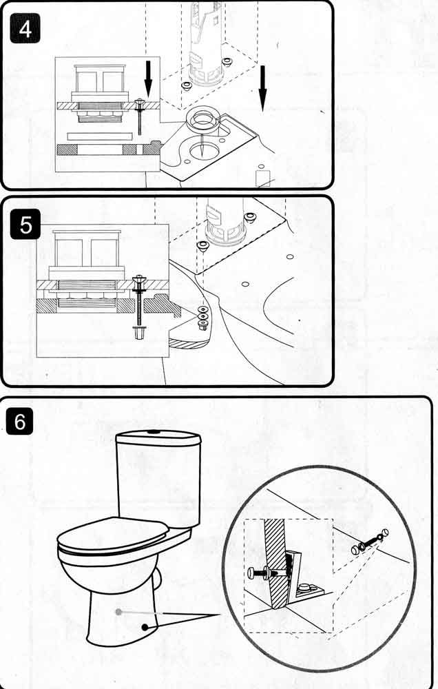 Крепление унитаза к полу на плитку - обзор способов + инструкции!