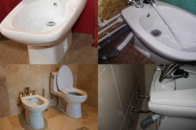 Установка биде и подключение его к канализации