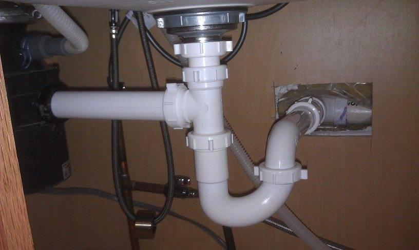 Подключение посудомоечной машины к канализации, электросети, водопроводу