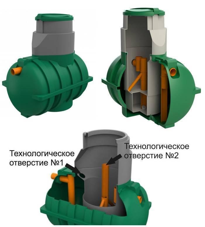 Автономная канализация топол-эко: принцип работы, установка, монтаж