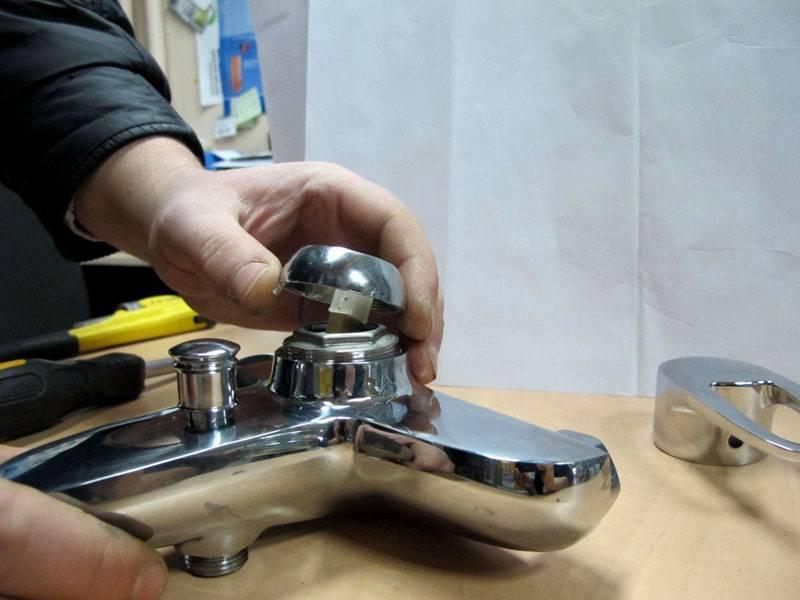 Ремонт смесителя и замена картриджа своими руками