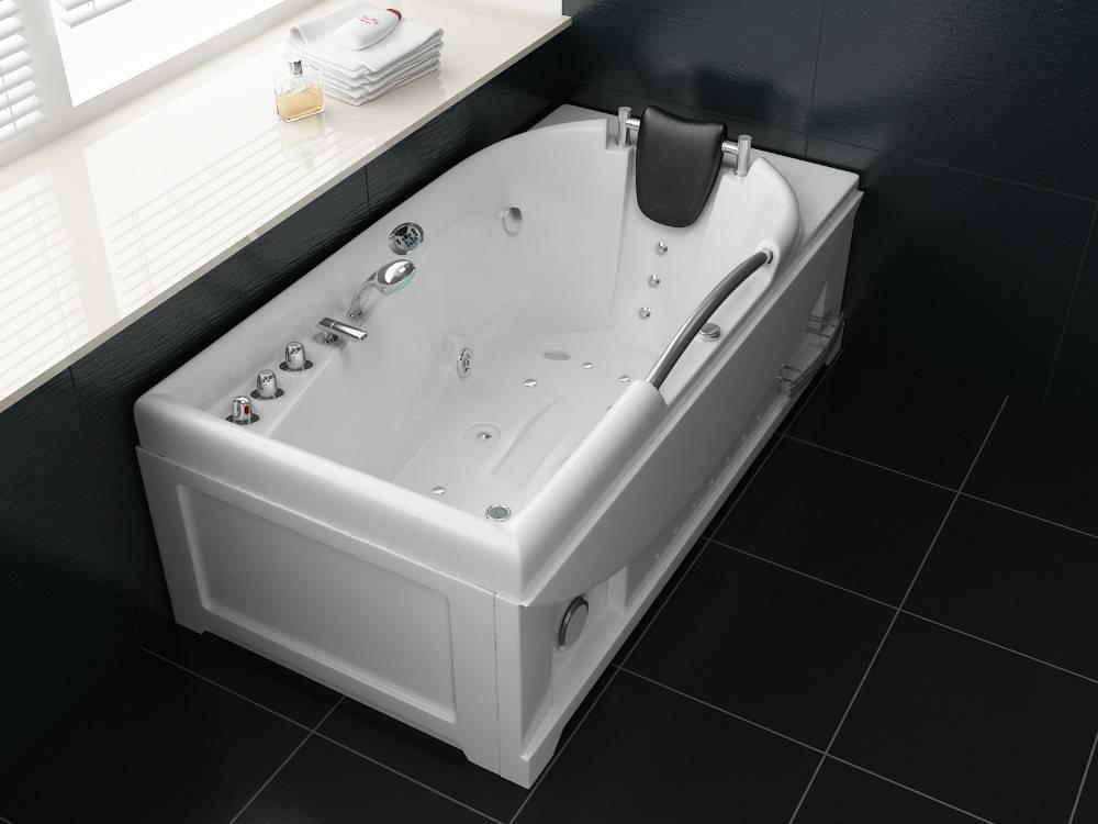Джакузи- что это? для каких целей стали производить ванны? размеры и формы +фото и видео