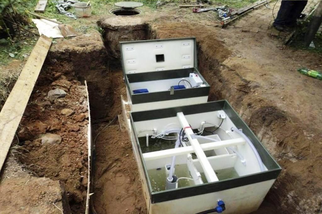 Канализация в частном доме при высоком уровне грунтовых вод - угв