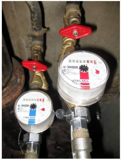 Проект счетчика воды и технические условия на установку