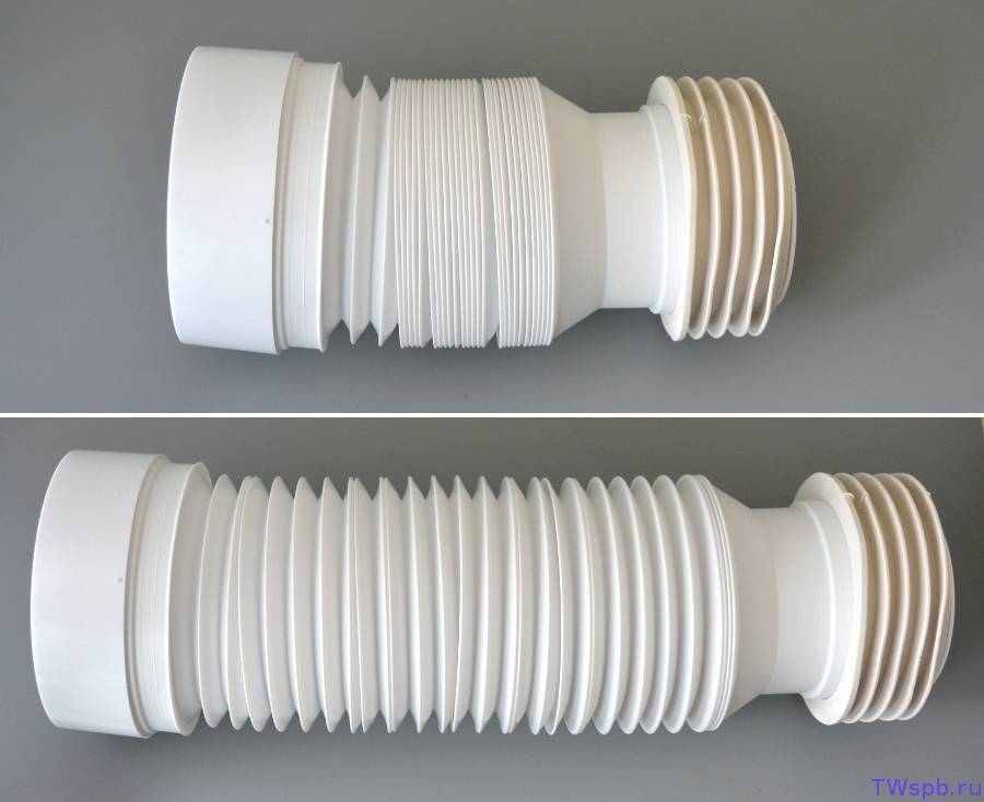 Гофра для унитаза короткая и длинная: размер по госту, длина 100 мм и минимальный диаметр, можно ли укоротить, как уменьшить