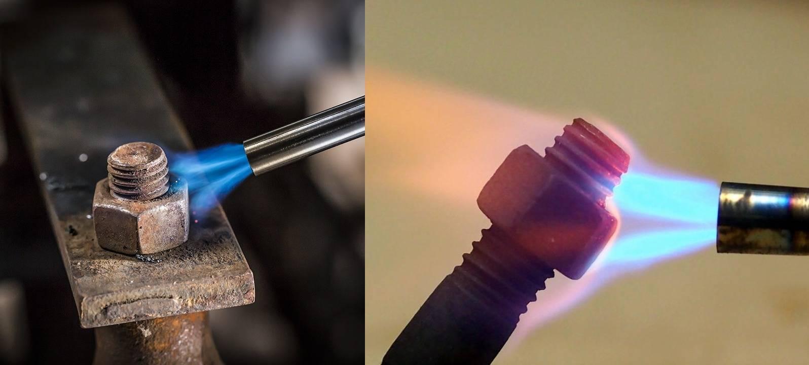 Пайка медных трубок газовой горелкой   все про металл