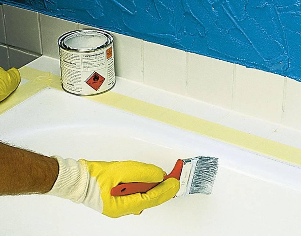 Эмаль для реставрации ванн — какая эмаль для ванны лучше и почему?