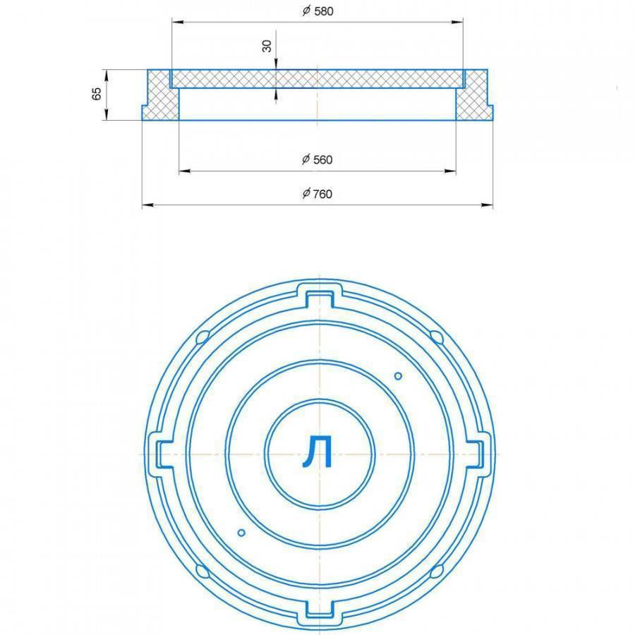 Канализационный люк: чугунный, тяжелый, полимерный, пластиковый, видео-инструкция по установке своими руками, диаметр, вес, размеры по госту, маркировка, почему круглые, а не квадратные, сколько весит