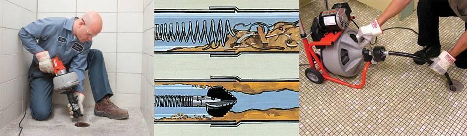 Как прочистить канализационную трубу быстро и эффективно