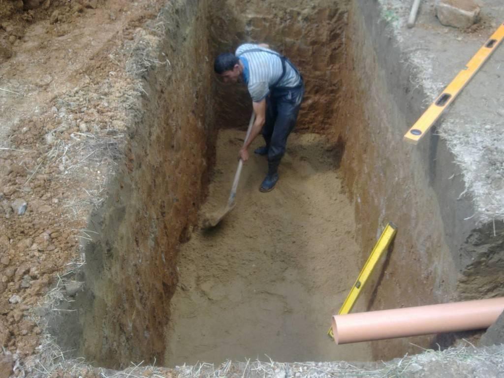Как выкопать яму для септика - про-септик - все о септиках: советы по выбору, подготовке, установке и обслуживанию