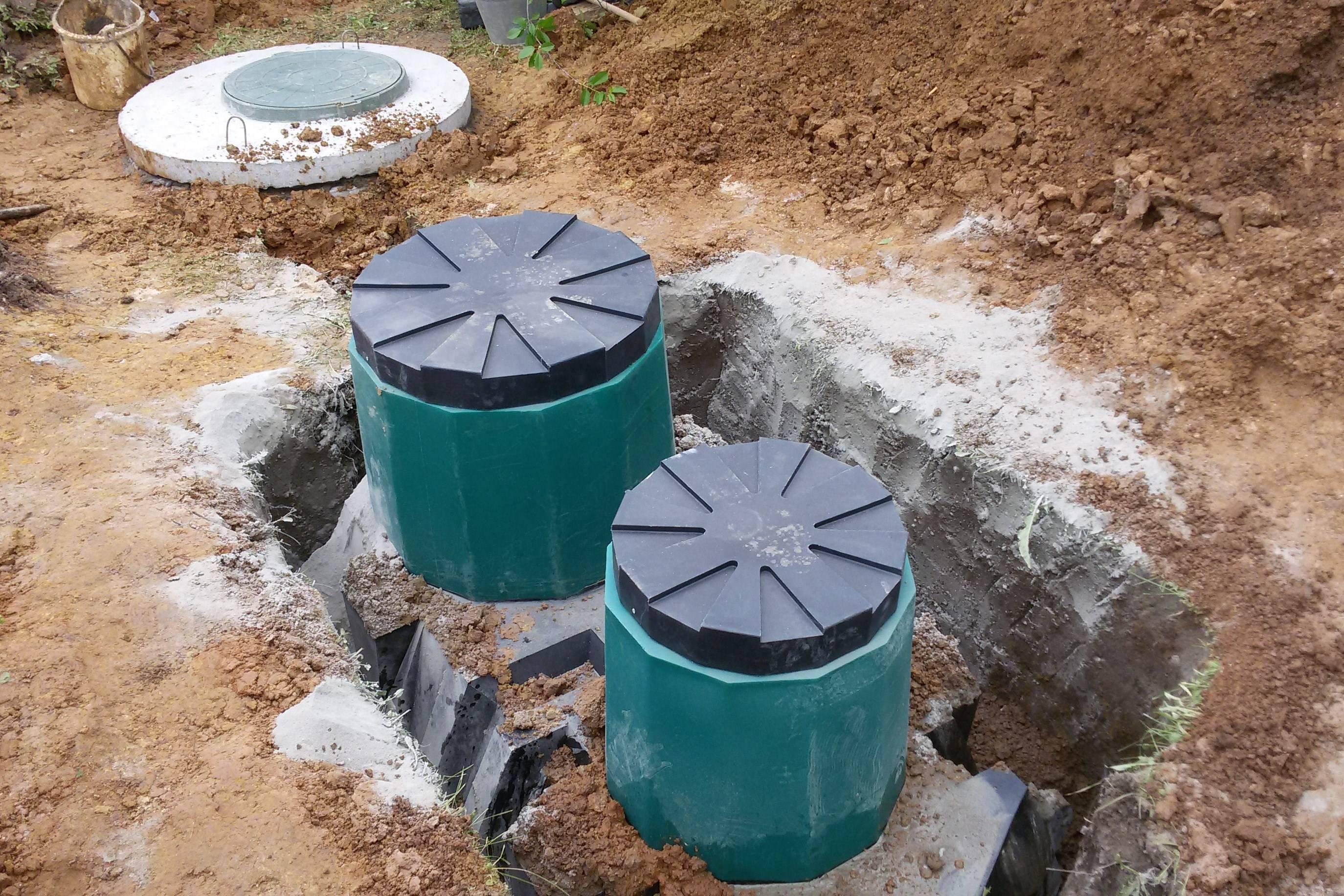 Автономные канализации под ключ для частного дома и дачи в спб