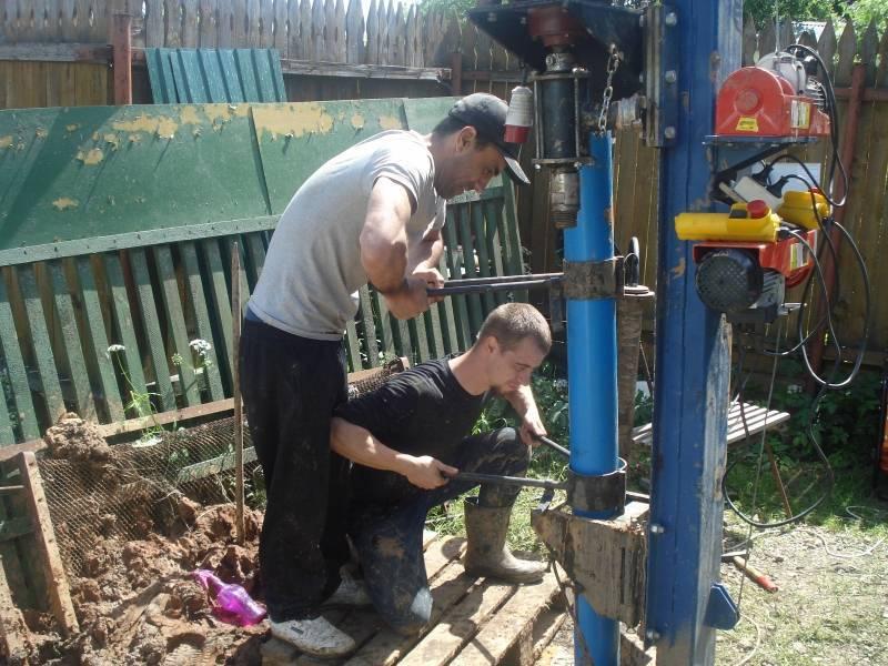 Как раскачать скважину на глине – чистим самостоятельно