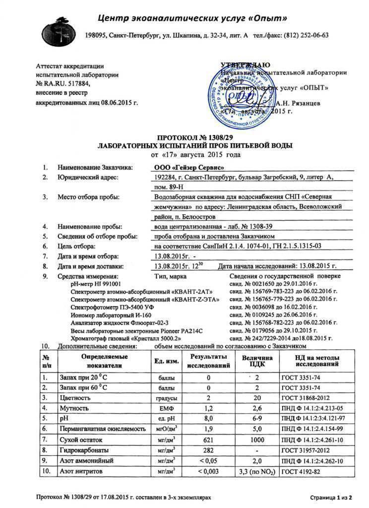 Анализ сточных вод: правила отбора проб на основании гост 31861 2012, какие методы и оборудование используются, стоимость проверки, что выявляет химический тест