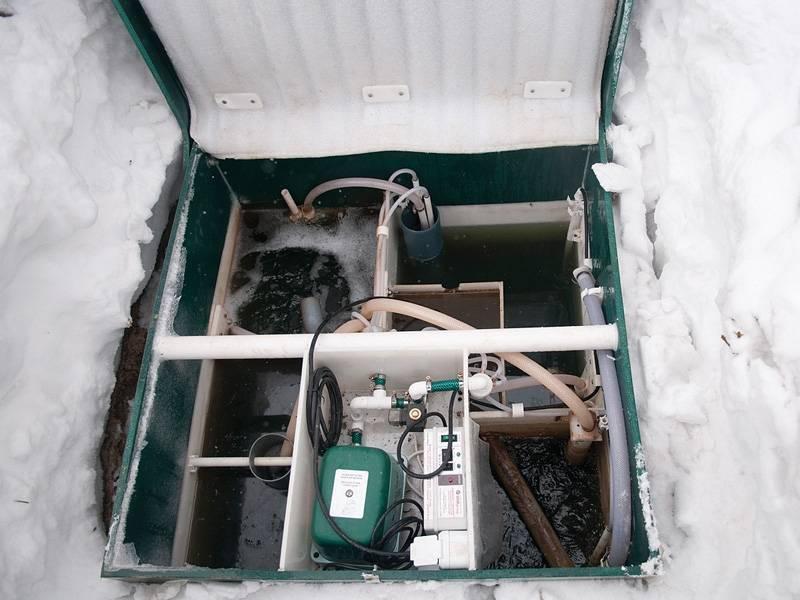 Обслуживание септика топас зимой — правила и рекомендации