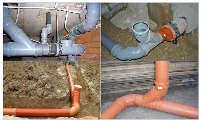 Труба канализационная наружная: как установить своими руками коммуникации для внешней, ливневой канализации - видео-инструкция, фото