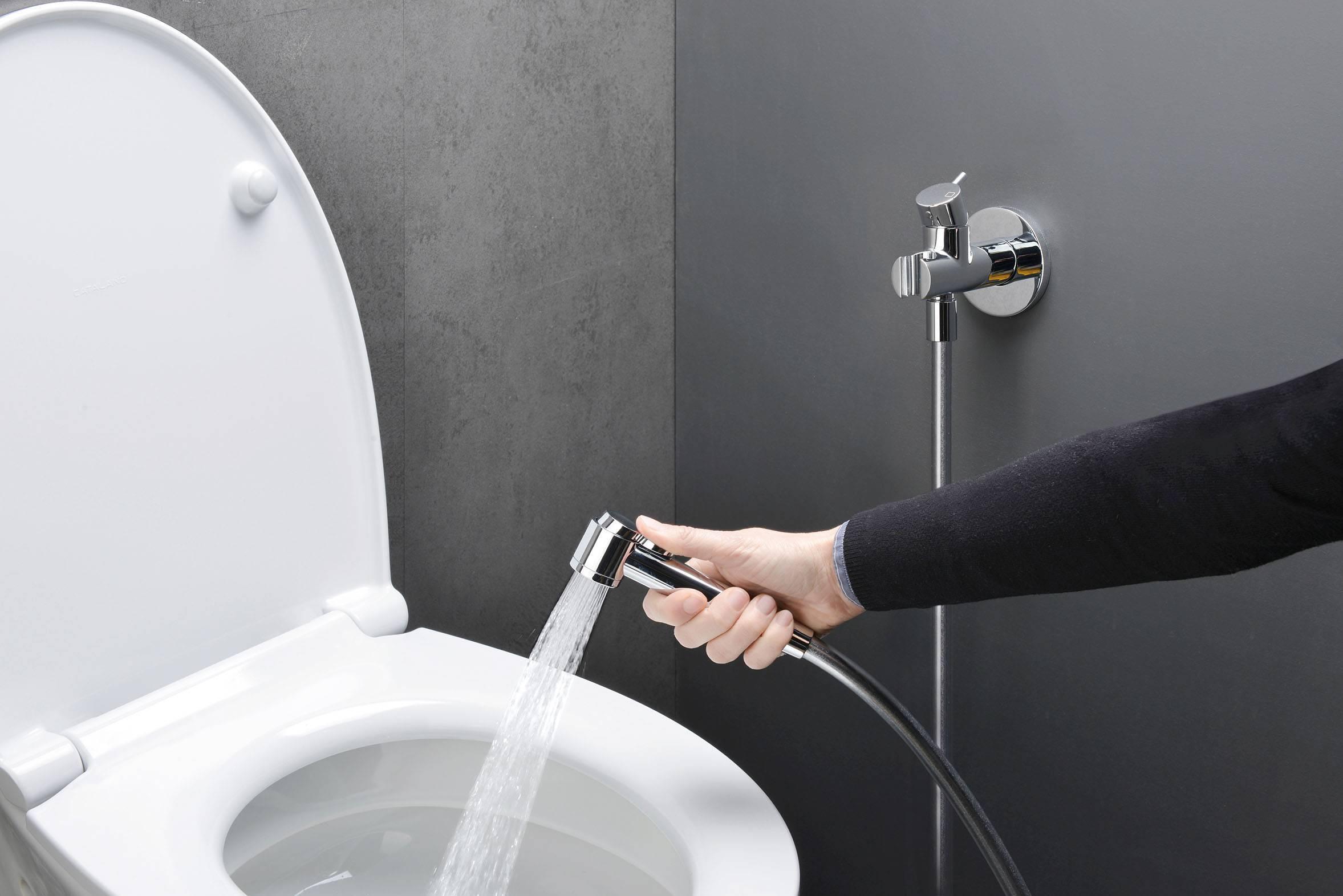Гигиенический душ для унитаза: как выбрать и как установить своими руками