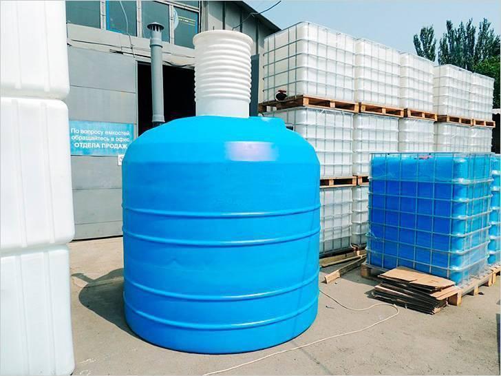Пластиковые накопительные емкости для канализации: виды и плюсы