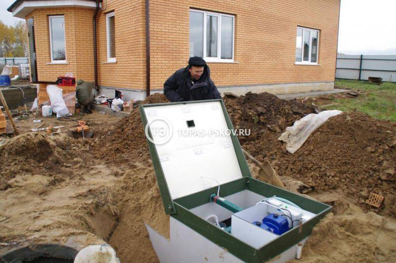 Септик топас 20 лонг пр купить в московской области. низкие цены.