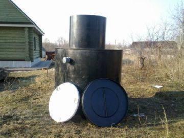 Простая автономная канализация с септиком крот