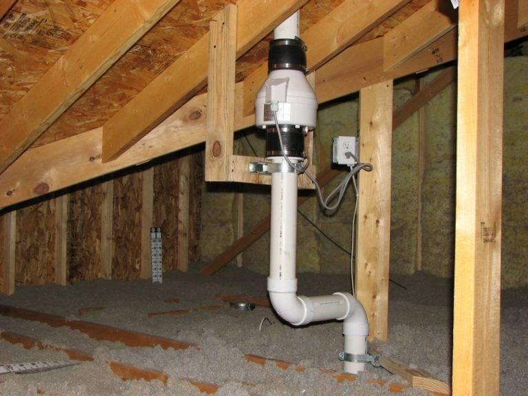 Вентиляция для канализации своими руками в частном доме и ее схема