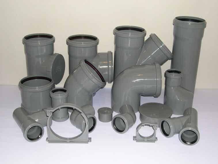 Фитинги для канализационных труб: виды, материалы и особенности монтажа