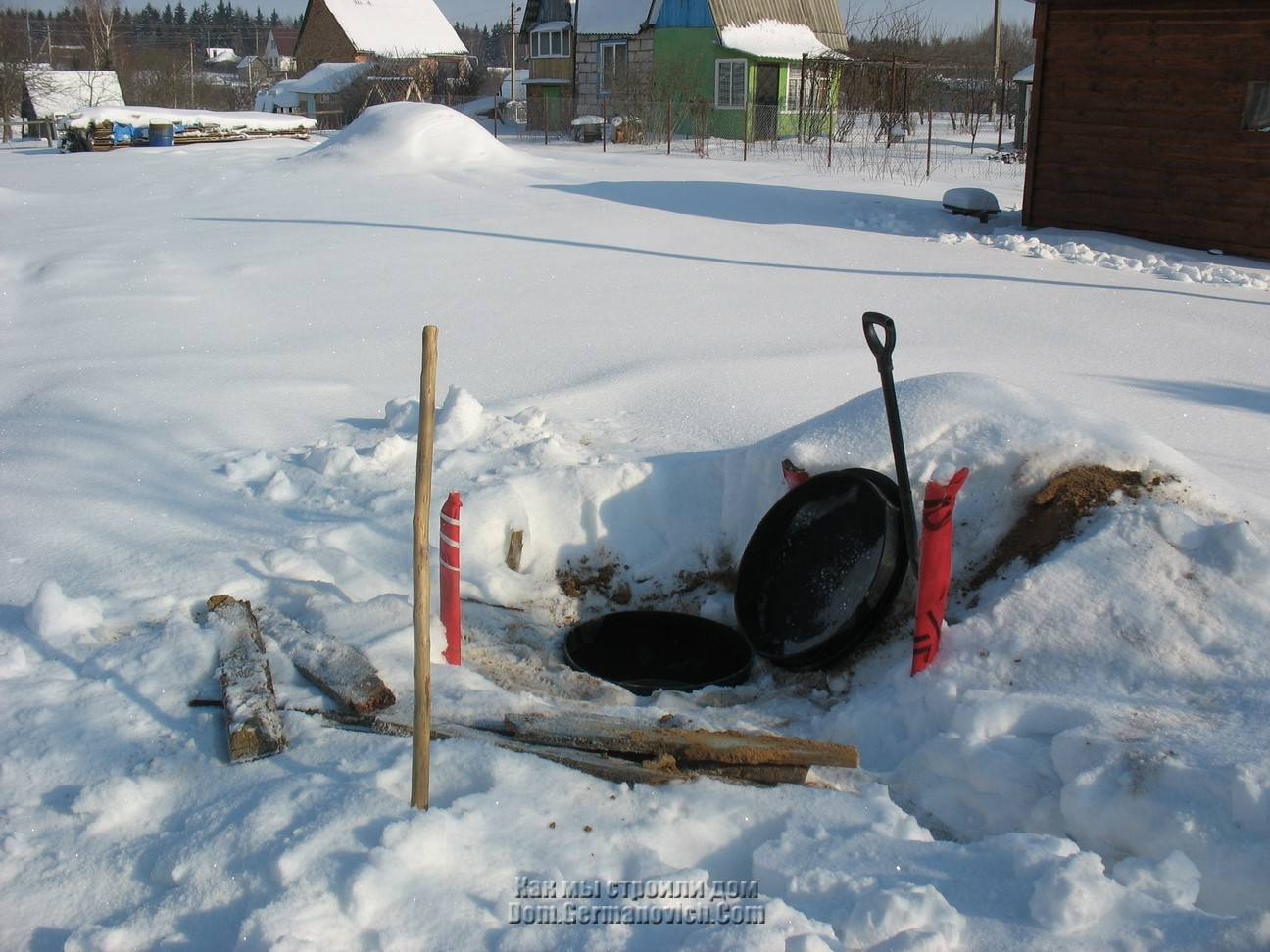 Замерзает ли вода в септике зимой. установка септика зимой: поэтапная инструкция и разбор возможных ошибок